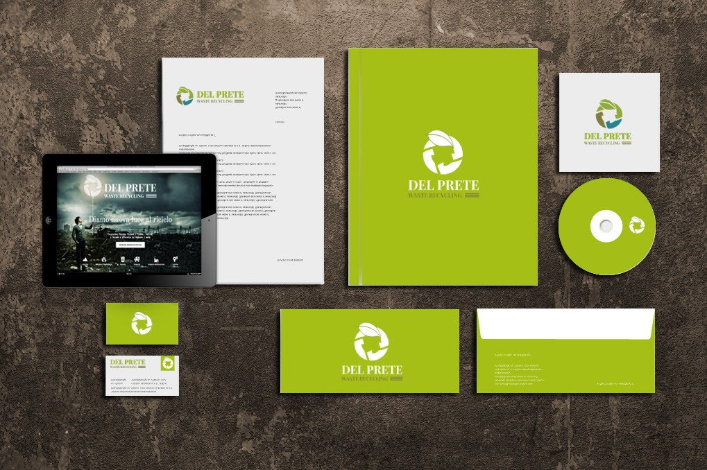 Del Prete Waste Recycling | Branding | Corporate Identity | Advertising | Web