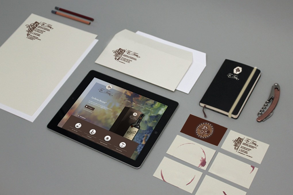 Tre Terre | Branding | Corporate Identity | Advertising | Web