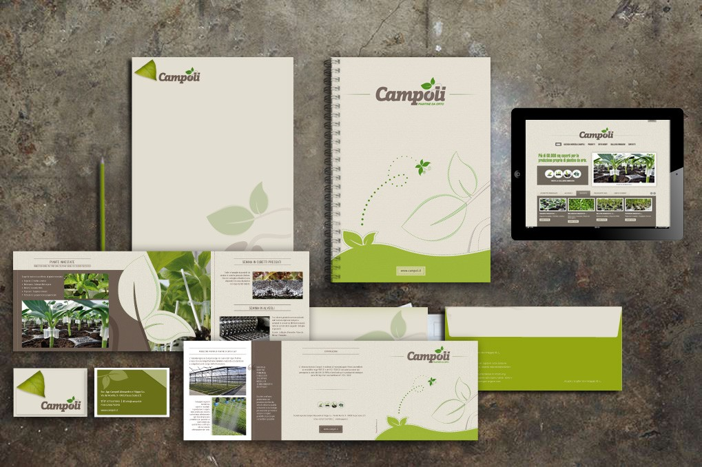 Campoli | Branding | Corporate Identity | Advertising | Web