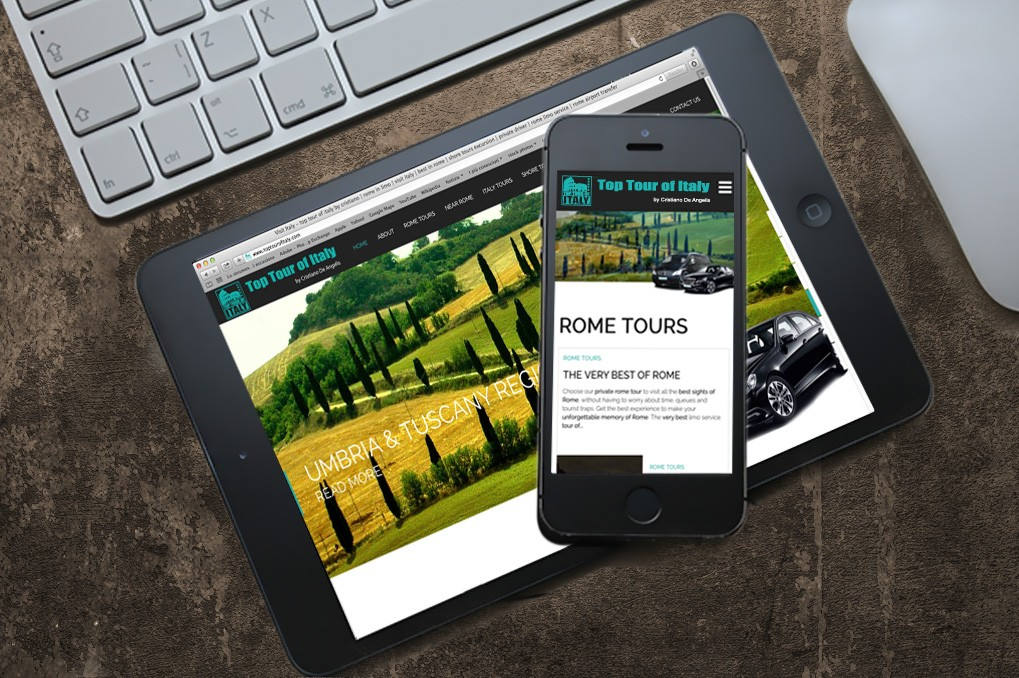 Top Tour of Italy | Branding | Corporate Identity | Advertising | Web